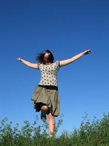 feeling joy
