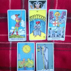 Spring Clearing Tarot